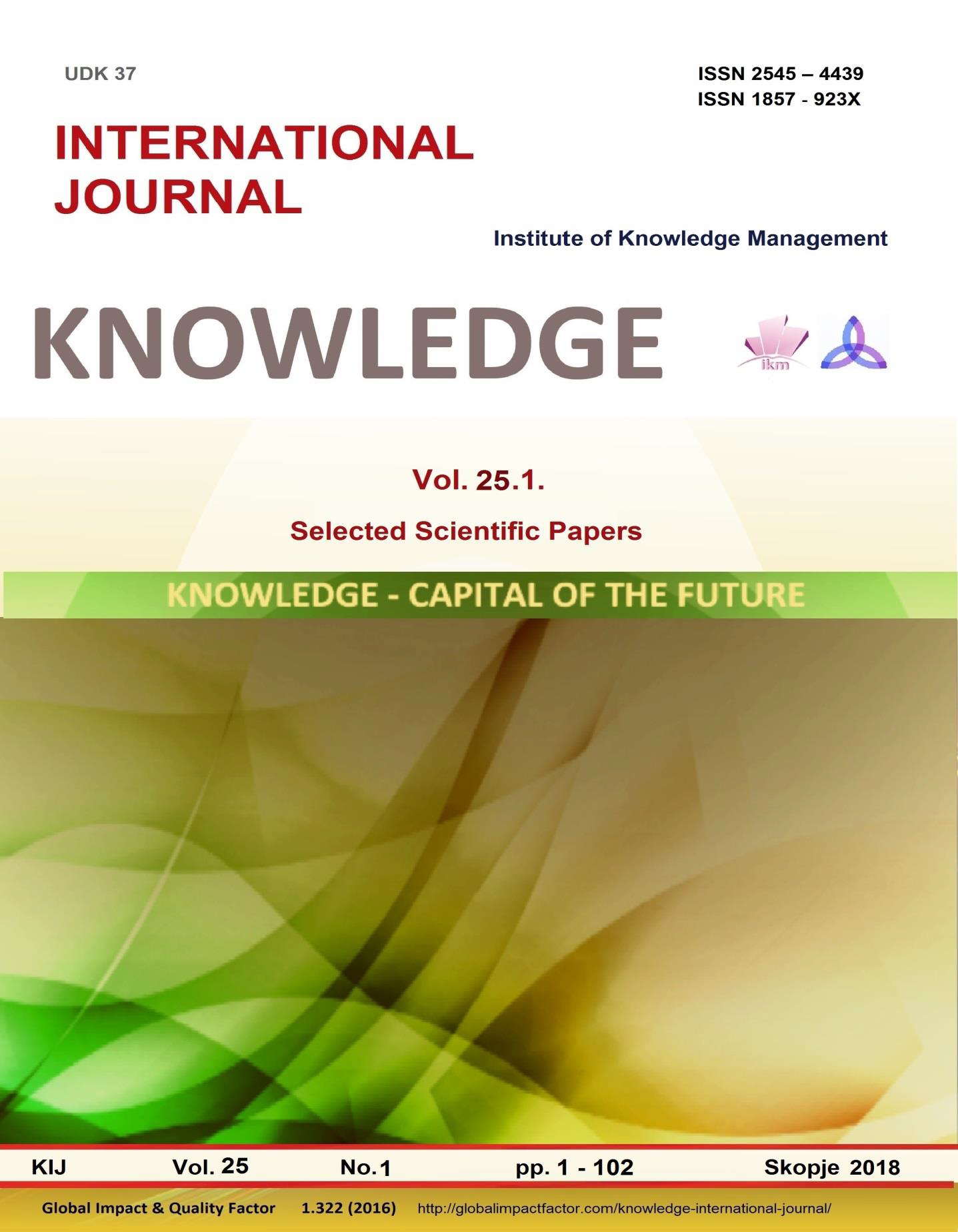 THE POWER OF KNOWLEDGE OF THE CITIZENS | Knowledge